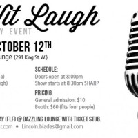 COMING UP – Dead Wit Laugh October Edition ft. Jay Martin October 12th